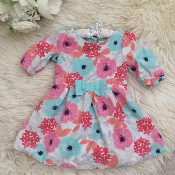 Gymboree Other - NEW Gymboree Baby Girls Floral Dress